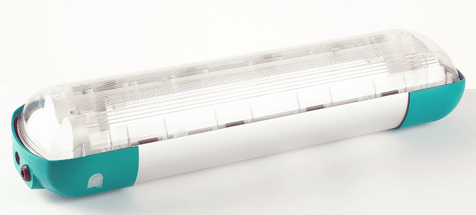Zone 1 Fluorescent Luminaire ATEX – Ex ed Linear Light Fittings - Petrel 9 Series