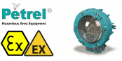 Zone 1 Bulkhead Hazardous Area Lighting ATEX Ex de – Petrel 621