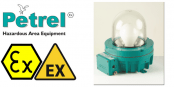 Zone 1 Wellglass Hazardous Area Lighting ATEX Ex de – Petrel 620