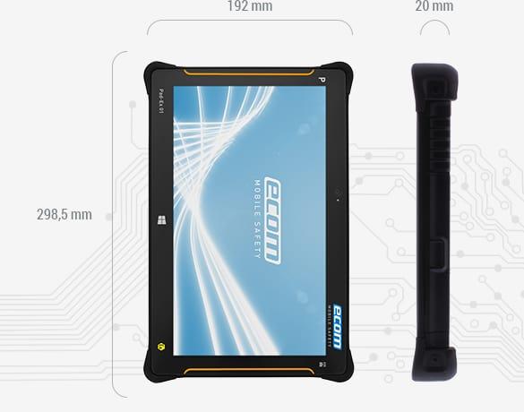Zone 2 Hazardous Area Tablet ATEX - Ecom Pad-Ex 01 Z2 Tablet (Windows)