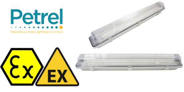 Zone 2 LED Light Fitting Hazardous Area ATEX Certified - Petrel XN LED