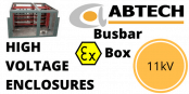 11kV Enclosure – HV High Voltage Busbar Enclosure (Zone 1 & Zone 2)