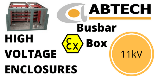 11kV Enclosure - HV High Voltage Busbar Enclosure (Zone 1 & Zone 2)