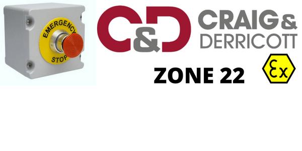 ATEX Hazardous Area Control Stations Zone 22 – Craig & Derricott