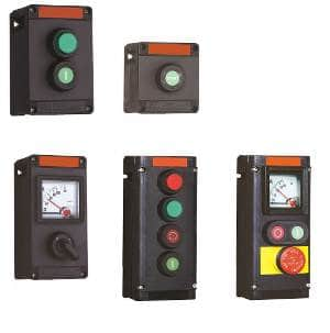ATEX Hazardous Area Plastic Control Stations Zone 1 & 21 - Abtech PCS