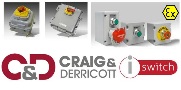 ATEX Zone 1 & Zone 2 Isolator - 3P+N+2E/B - Craig & Derricott DGC1254EBZ1