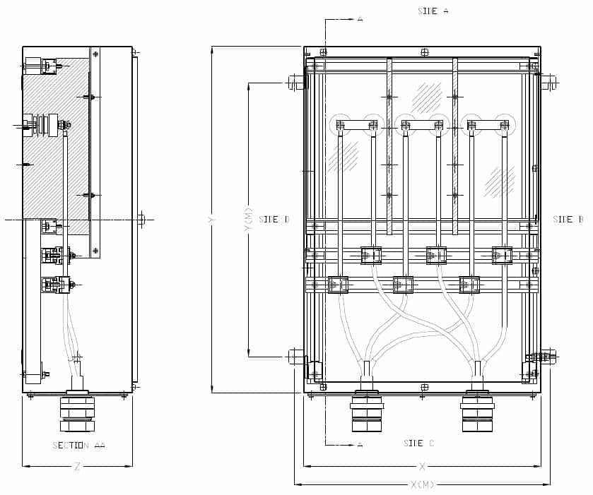 High Voltage Junction Box 11kV - Zone 1 Zone 2 Hazardous Area ATEX
