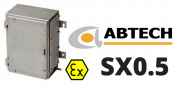 Abtech SX0.5 Enclosures – Zone 2 ATEX