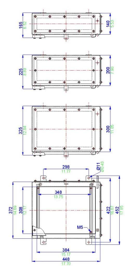 Abtech SX4 - ATEX Zone 1 Zone 2 Junction Box Electrical Enclosures