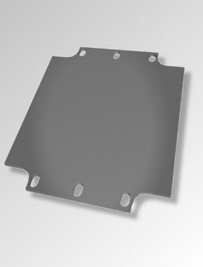 Component mounting plate (tufnol as standard, steel an option)