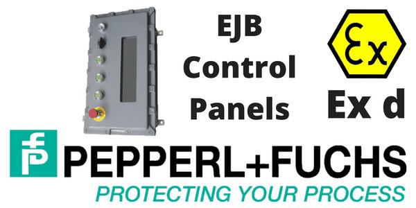Control Panels Hazardous Area Ex d IIB Flameproof (ATEX) Aluminium - Pepperl Fuchs EJB