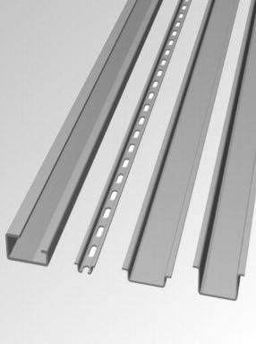 DIN standard mounting rail (TS15, TS32 or TS35)