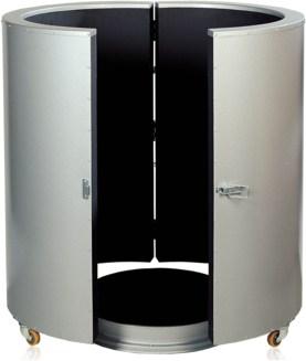 Drum Heater – Rigid Drum Heater Enclosure & Base Heater Set IDR-IBDR-CON