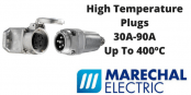 High Temperature Plugs – Marechal Power Connectors 240-400 Degrees Celsius (Decontactors)