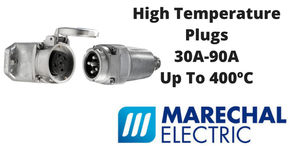 High Temperature Plugs - Marechal Power Connectors 240-400 Degrees Celsius (Decontactors)