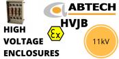 11kVEnclosure – Hv High VoltageJunction Box Zone 1 & Zone 2 Hazardous AreaATEX