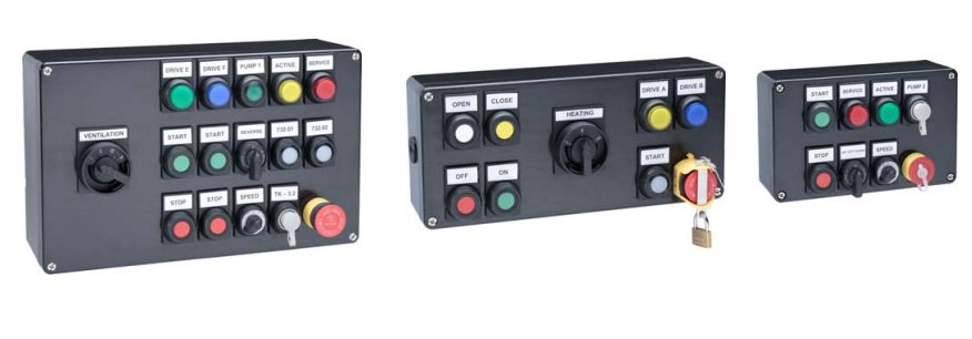 Increased Safety Ex e Control Stations GRP - Pepperl Fuchs GLCS - Configuration Examples