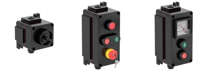 Increased Safety Ex e Control Units GRP - Pepperl Fuchs LCP - Configuration Options