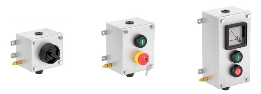 Increased Safety Ex e Control Units Stainless Steel - Pepperl Fuchs LCS - Configuration Options