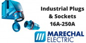 Industrial Plugs – Marechal 16A-250A Plugs & Sockets (Decontactors)