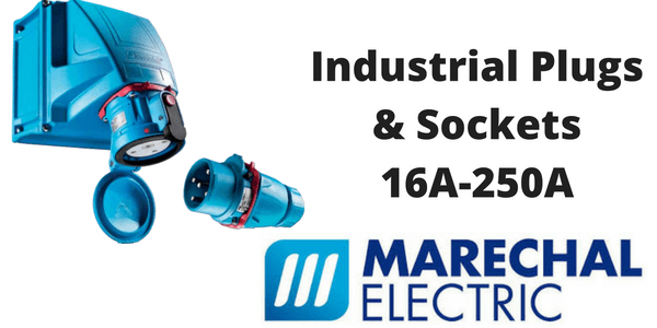 Industrial Plugs - Marechal 16A-250A Plugs & Sockets (Decontactors)