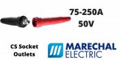 Marechal CS 75-250Amps Socket Outlets – 50 Volt Very Low Voltage LV Welding Connectors