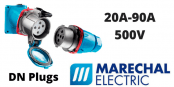 Marechal DN Plugs 20A-90A Decontactors (IP54 IP55)