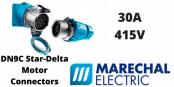 Marechal DN9C Star-Delta Motor Connectors – AC-22 30A 415V