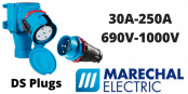 Marechal DS Plugs 30A-250A Decontactors (IP54 IP55)