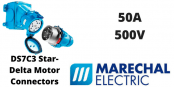 Marechal DS7C3 Star-Delta Motor Connectors – AC-22 50A 500V