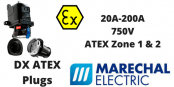 Marechal DX Zone 1 & Zone 2 Hazardous Area ATEX Plugs
