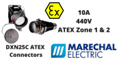 Hazardous Area Connectors ATEX (Zone 1 & Zone 2 Hazardous Area) | Marechal DXN25C