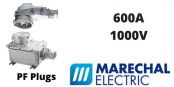 Marechal PF 600Amps Socket Outlets – 1000V IP66/67 Heavy Duty Plugs & Sockets