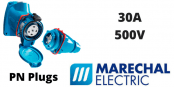 Marechal PN Plugs 30A Decontactors – GRP & Metal Connector (IP66 IP67)
