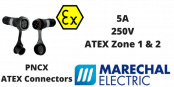 Marechal PNCX Zone 1 & 2 (Gas) Zone 21 & 22 (Dust) Hazardous Area ATEX Connectors