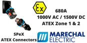 Marechal SPeX Hazardous Area Connectors ATEX (Zone 1 & Zone 2 Hazardous Area)