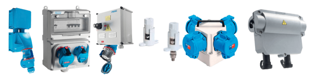 Power Distribution Boxes, Connectors, Sockets & Service Boxes