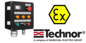 Push Button Control Station (GRP) Hazardous Area Zone 2 ATEX – Technor EFE