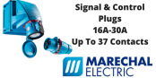 Signal and Control Plugs – Marechal 16A-30A Up To 37 Contacts (Decontactors)