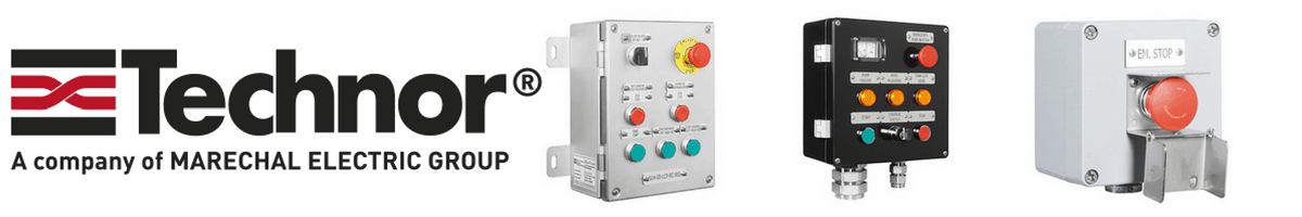 Control Stations -  Zone 2 Hazardous Area ATEX Certified For Dust Atmospheres