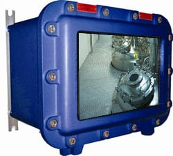 Video Monitor - Hazardous Area Zone 1 Explosion Proof Video Monitor - Extronics iVID101