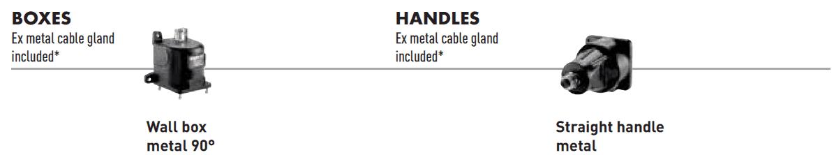 Marechal DX Boxes & Handles