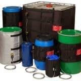 Drum Heating Jackets : Glaze Based Slurry Heating
