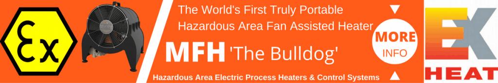 Hazardous Area Fan Heaters ATEX Certified