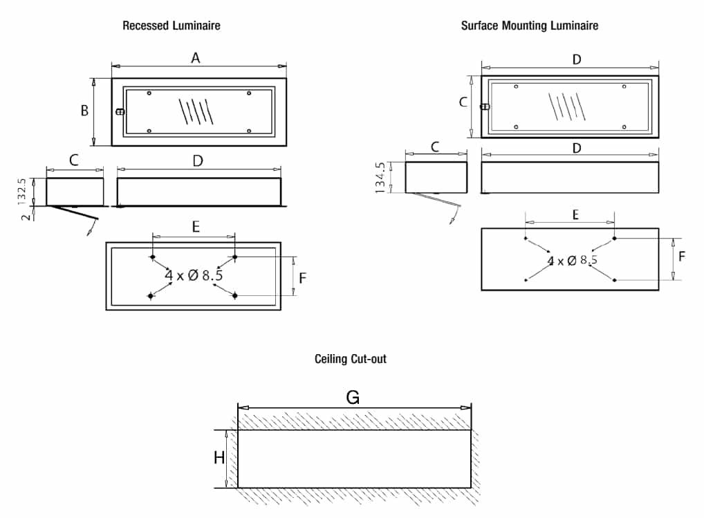 Zone 1 Zone 2 (21-22) Lighting - Hazardous Area Fluorescent Luminaires ATEX – Appleton RE