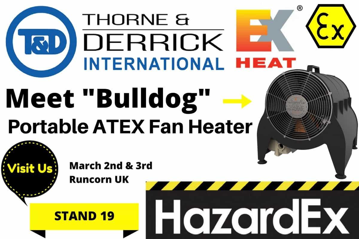 ATEX Fan Heater