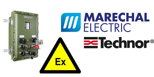 Ex d Enclosures – Explosion Proof Hazardous Area Technor EJB Aluminium Enclosure