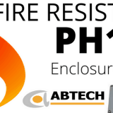 Fire Resistant Enclosures PH120 Pre-Assembled With Ceramic Terminal Blocks