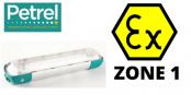 Zone 1 Fluorescent Hazardous Area Twin 18 Watt ATEX Light Fitting