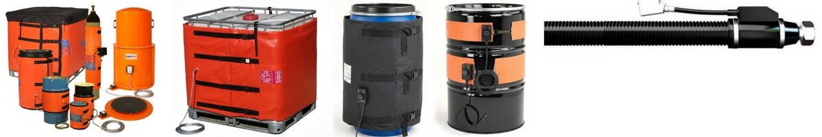 T&D are the UK's largest stockist of Drum, IBC & Tank Heaters & Jackets. Delivering UK & Worldwide